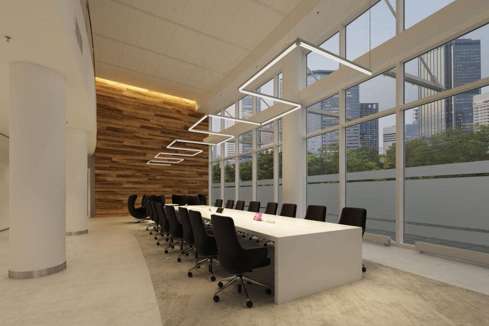 Bazplan lineer ofis aydınlatması