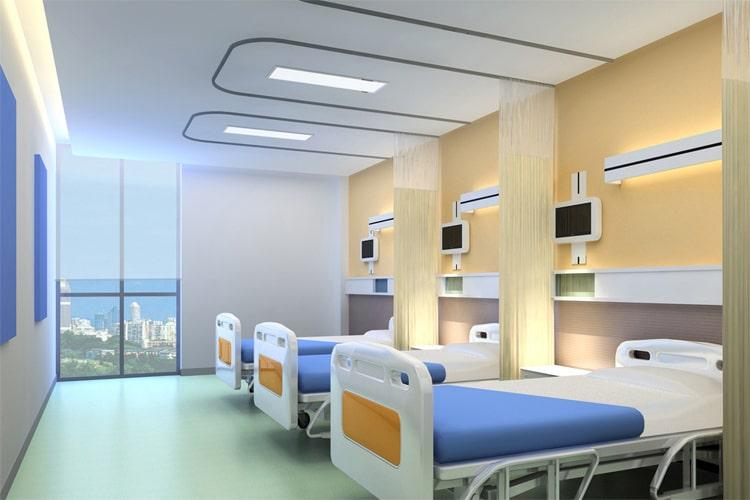 Dekoratif Hastane Odası Aydınlatmaları Armatürleri