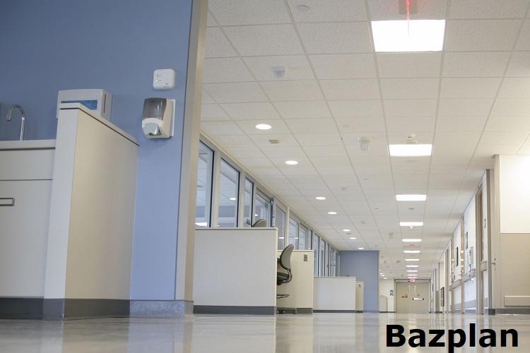 Hastane led panel aydınlatma armatürleri örneği