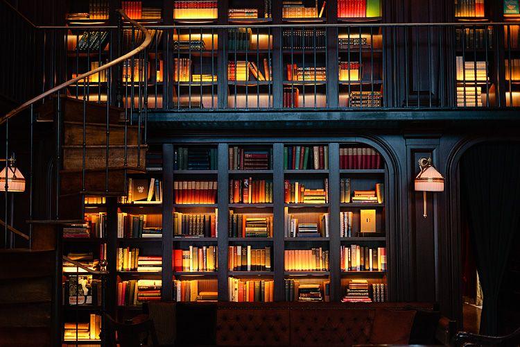 Kütüphane Aydınlatmaları Örneği 1