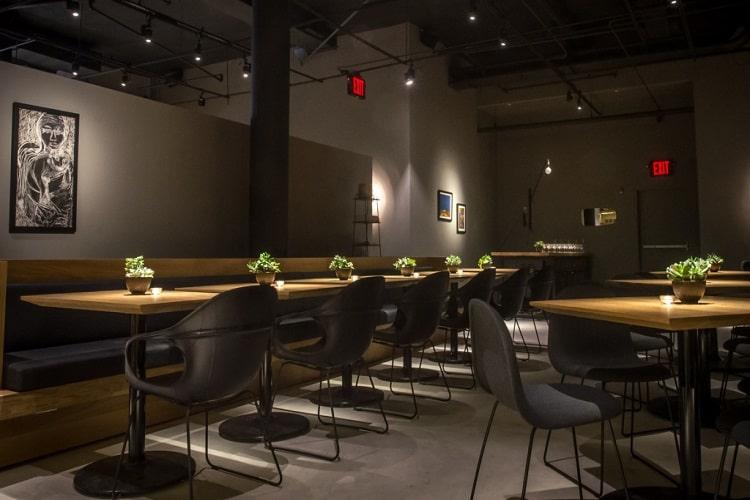 Restoran Ray Spot Vurgu Aydınlatmalar