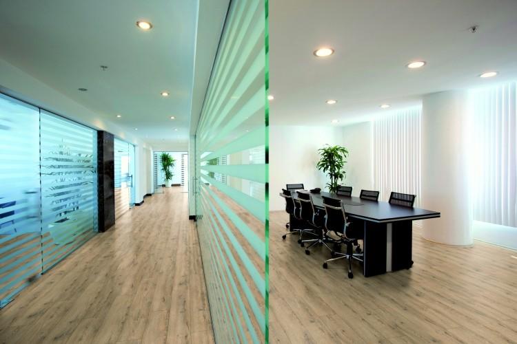 Sıva altı downlight ofis aydınlatma örnekleri bazplan