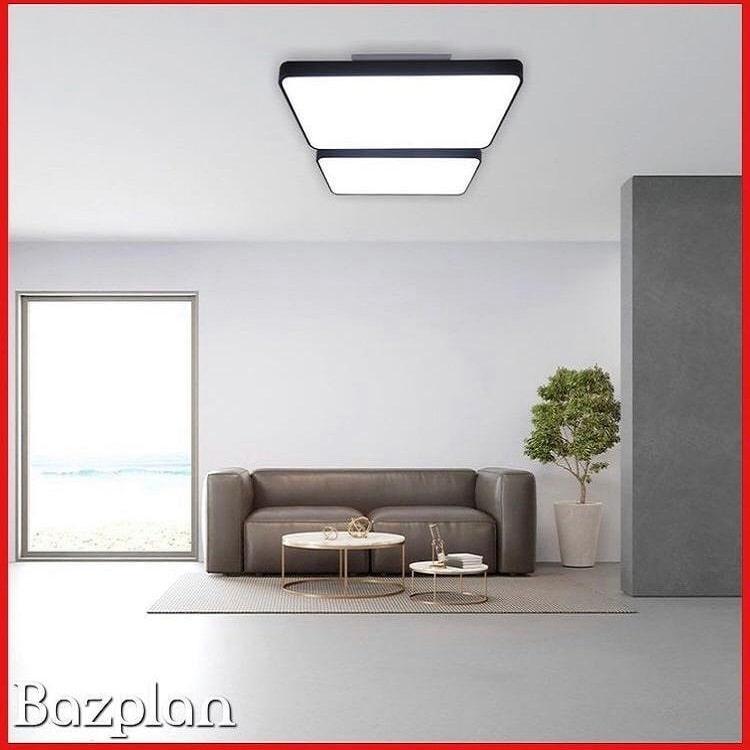 Villa oturması odası slim panel led aydınlatma-min
