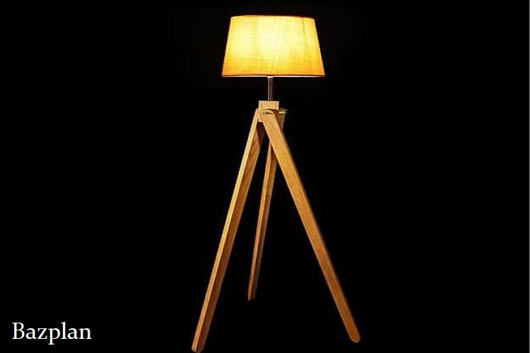 Dekoratif Sarı Işık Lambader Aydınlatma Modeli 1
