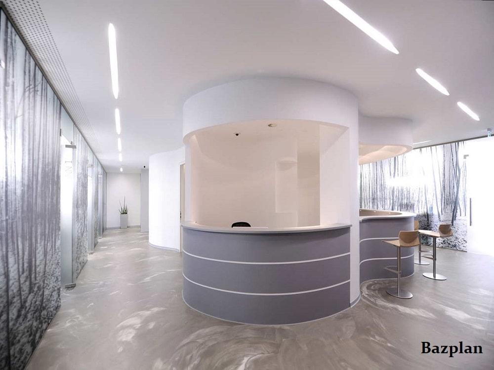 Bazplan Hastane Ana Koridor Gömme Lineer Aydınlatma Projesi-min