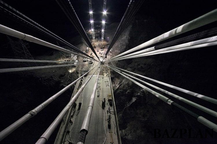 Köprü Çalışma Alanları Aydınlatması Led Projektör