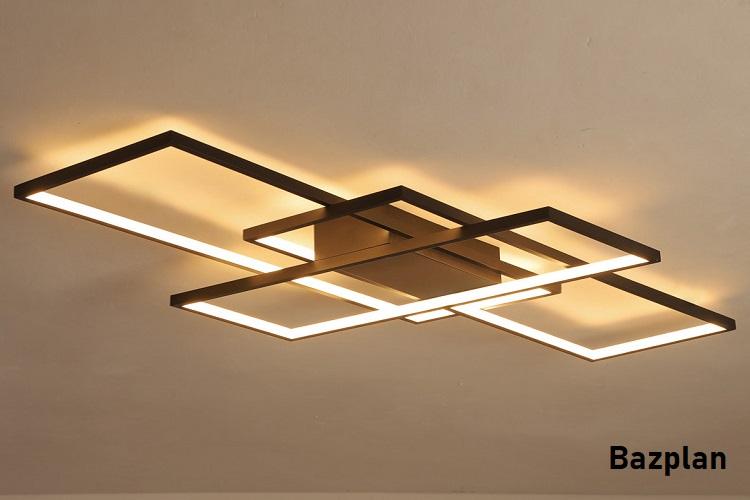 Bazplan dekoratif led tavan aydınlatması