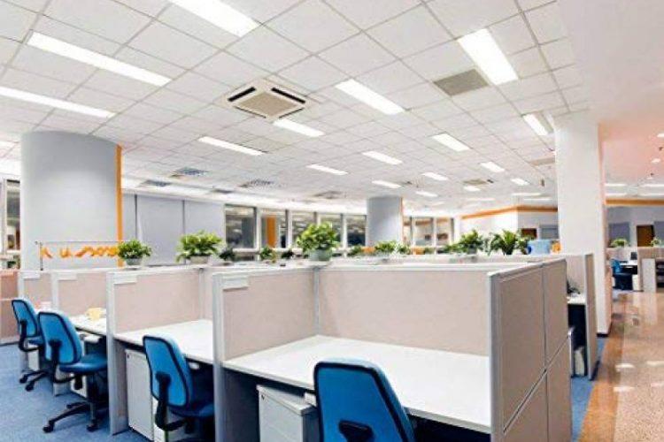 Ofislerde kullanılan aydınlatma armatürleri