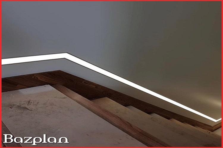 Merdiven şerit gömme lineer led aydınlatma 2-min