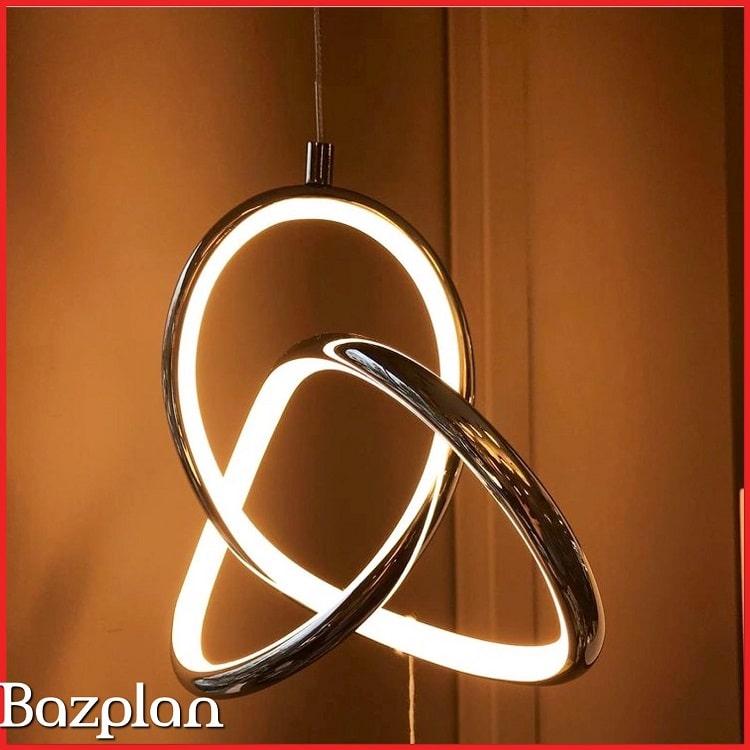Özel sarmal tasarım dekoratif led aydınlatma 2