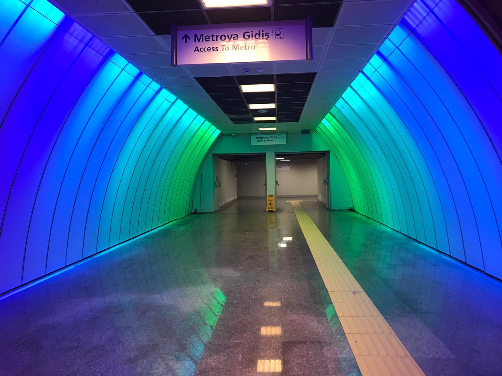 m6 levent metro ışığı bazplan