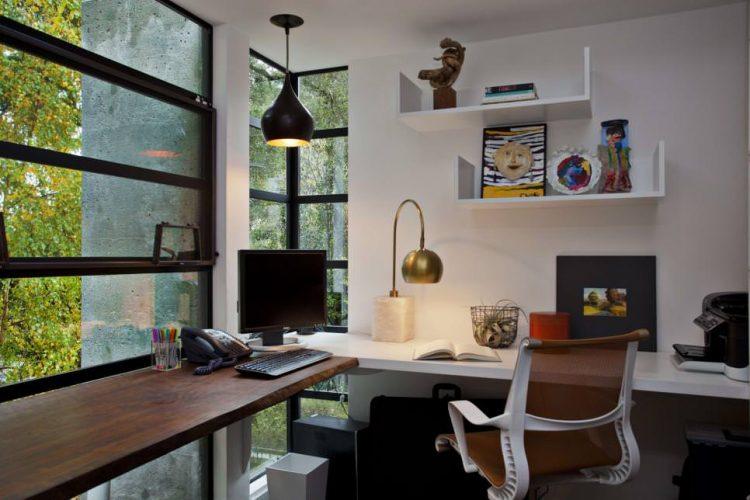 Home Ofis Çalışma Masası Aydınlatması