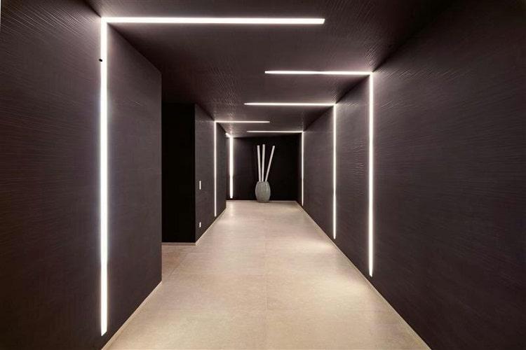 Koridor Gömme Linear Led Aydınlatma