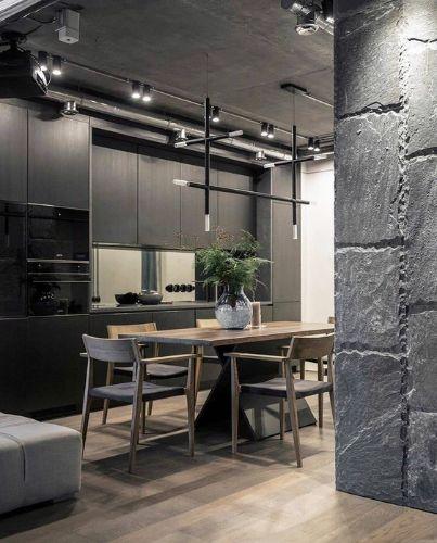 Bazplan Mutfak .TipiMasaüstü Ray Spot Led Aydınlatmalar - İç mekan aydınlatma