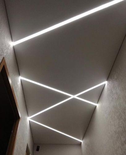 Bazplan iç mekan gömme led aydınlatma dekoratif 2