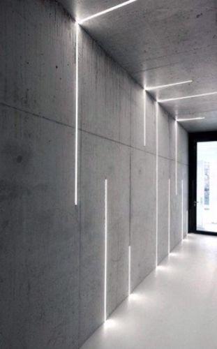 Bazplan iç mekan gömme led aydınlatma dekoratif 4