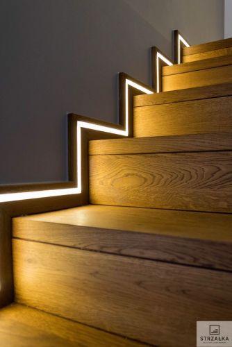 Bazplan iç mekan gömme led merdiven led aydınlatma 2