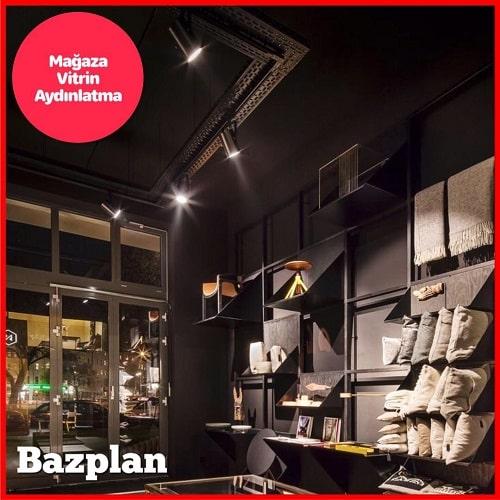 Mağaza ve Vitrin Aydınlatma - Ray Spot Vurgu Aydınlatmaları 1