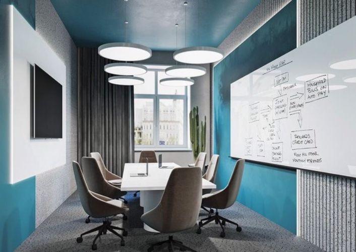 Ofis Toplantı Salonu Dekoratif Aydınlatma 2