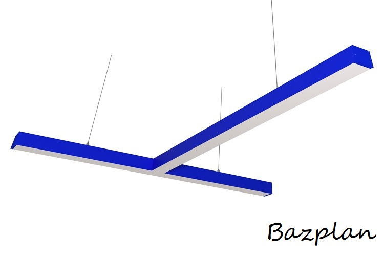 Sarkıt T Tipi Yeşil Linear Led Aydınlatma