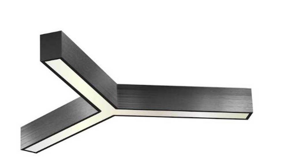 Y tipi dekoratif linear led aydınlatma
