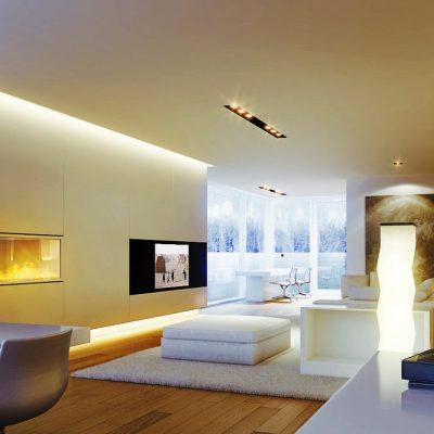 Doğru aydınlatma için iç mekan tasarım örnekleri